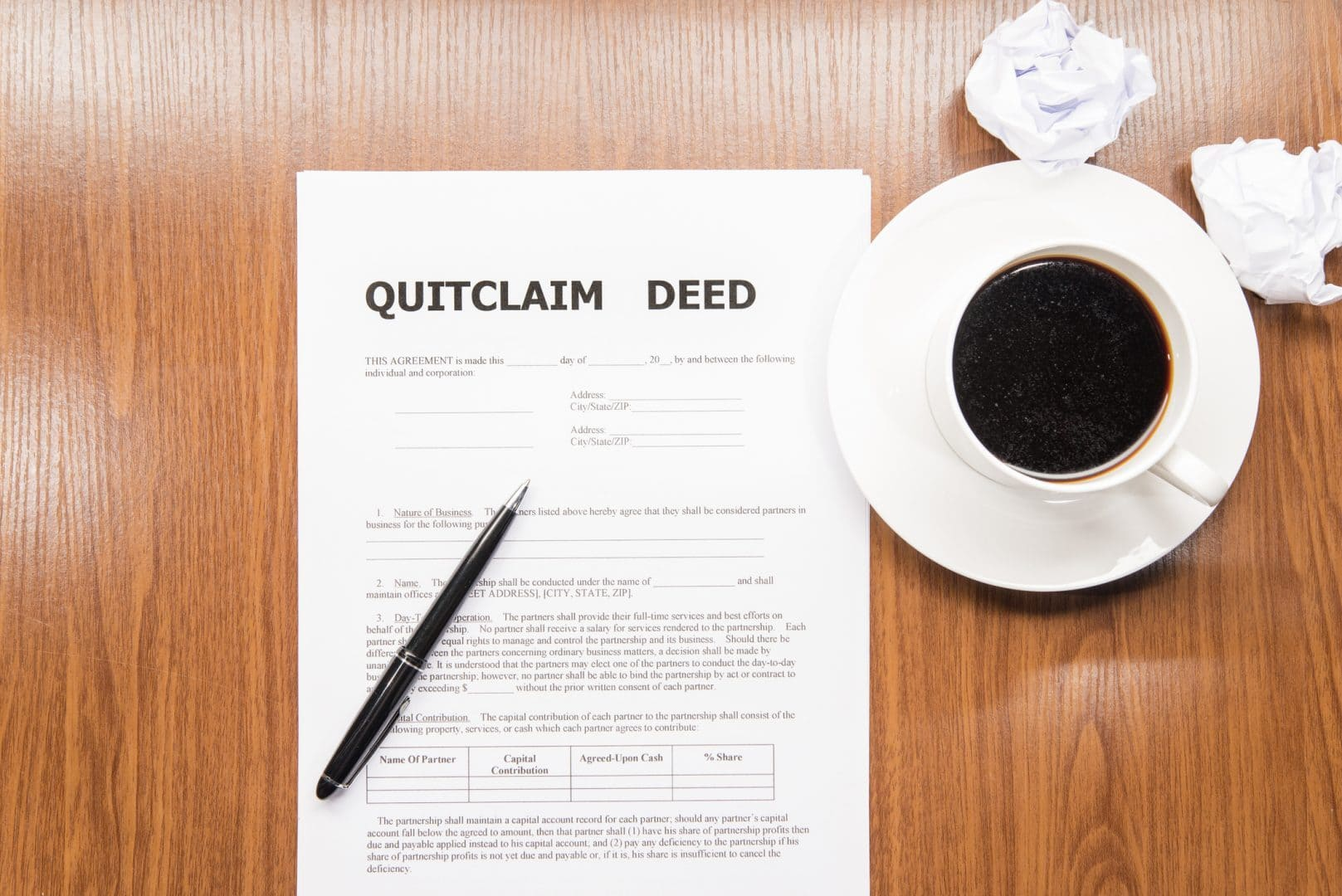 Can't Afford a Mortgage Due to Divorce Quitclaim Deed in Minnesota